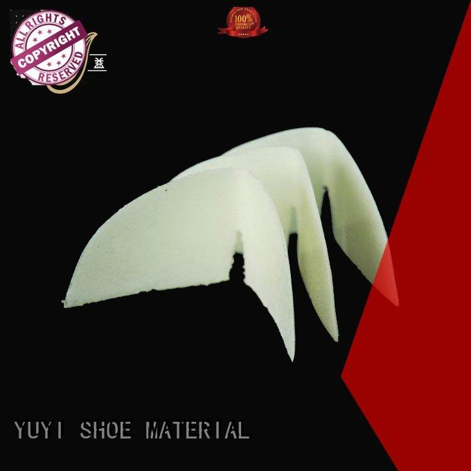 thermoplastic yat sheet performance YUYI toe puff and counter material