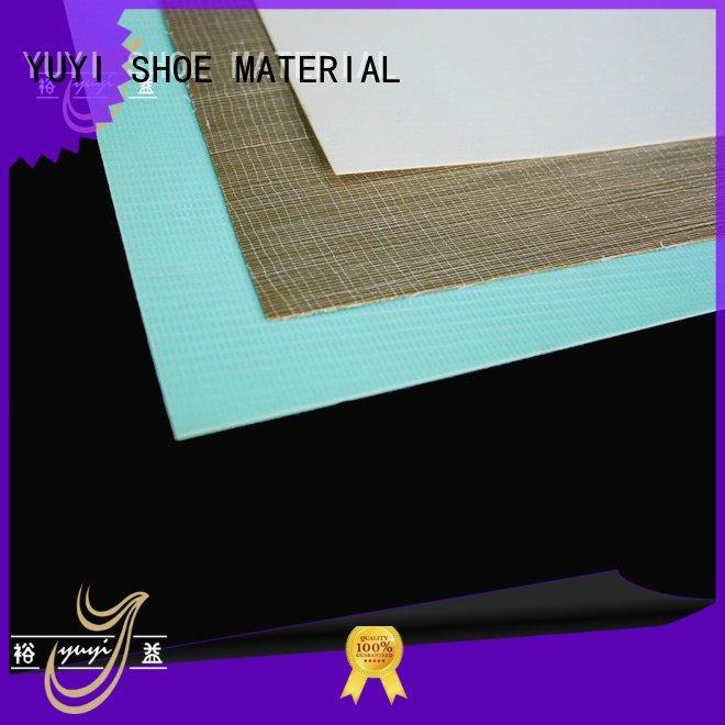 YUYI sheet heel counter running shoes hotmelt