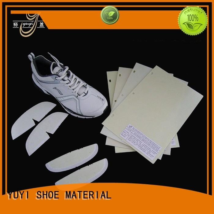 toe puff and counter material lowtemperature ypa shoe heel counter YUYI Brand
