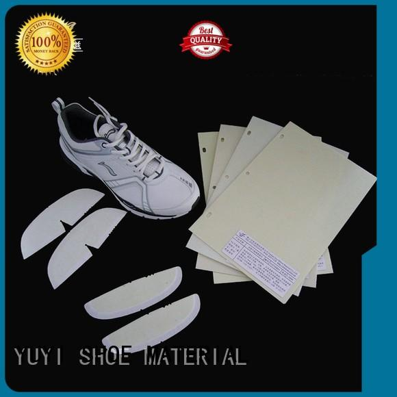 YUYI Brand touch leathergoods shoe heel counter manufacture