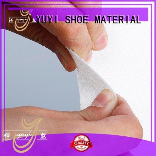 touch rigid reinforcement patent leather toe cap shoes YUYI