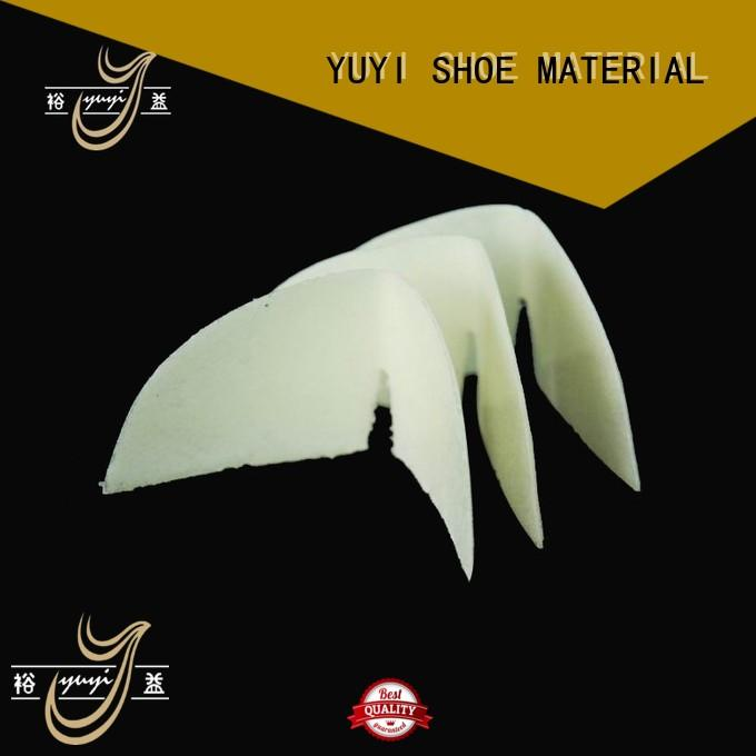 YUYI Brand yps leathergoods safety toe caps for shoes puff factory