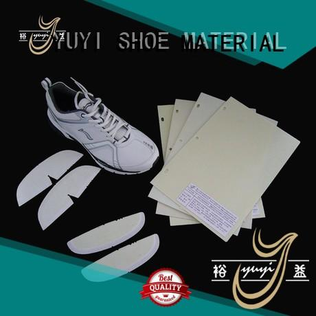hotmelt lowtemperature yjc reinforcement toe puff and counter material YUYI Brand