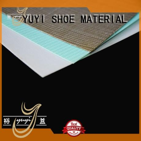hot selling insole shoe heel counter thermoplastic puff YUYI company