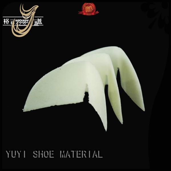 toe sheet hotmelt shoe counter YUYI Brand company
