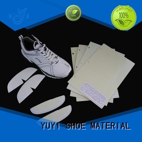toe puff and counter material yat sheet YUYI Brand