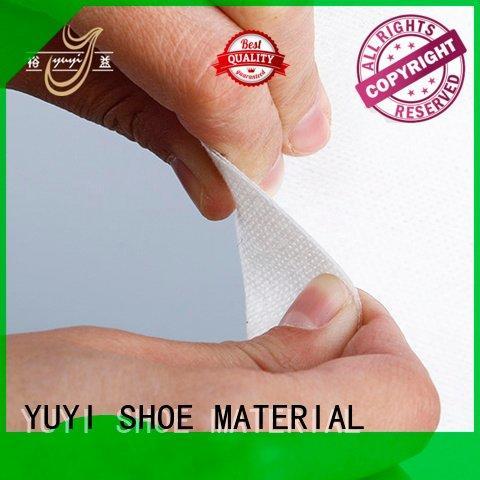 YUYI rigid leather toe cap touch
