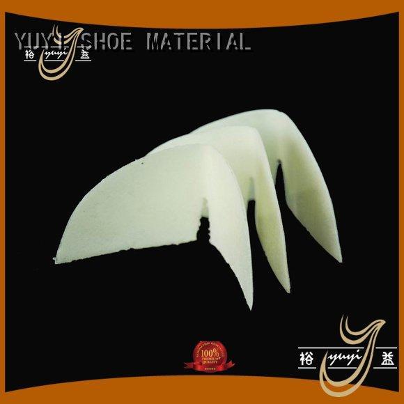 hotmelt shoe counter YUYI shoe rubber material