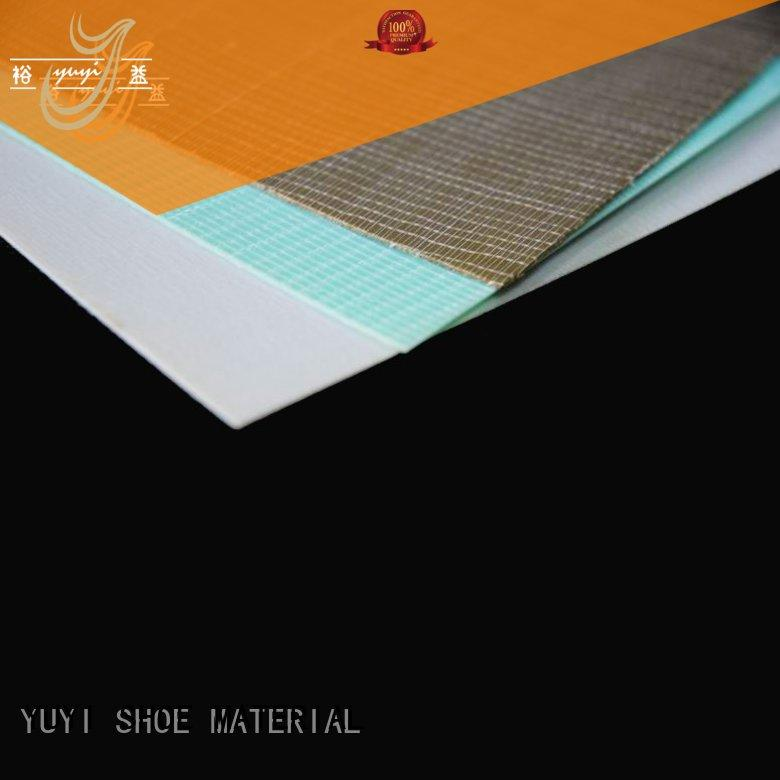 toe puff and counter material yat hotmelt sheet YUYI Brand