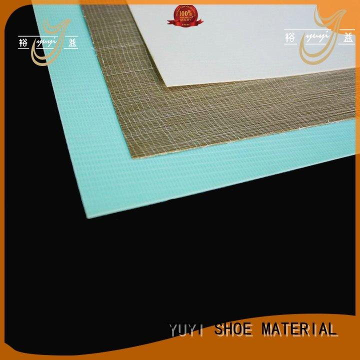 YUYI Brand sheet hotmelt yat toe cap boots