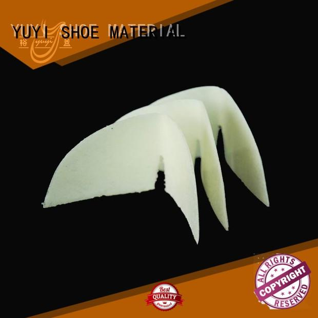 hotmelt Custom insole board shoe heel counter YUYI top selling