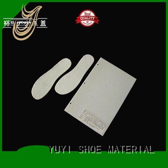 YUYI waterproof yps non woven interlining board insole