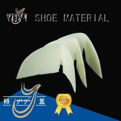 YUYI sheet thermoplastic yat running shoes without heel counter ypa