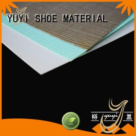 YUYI thermoplastic best material for shoes bulk production