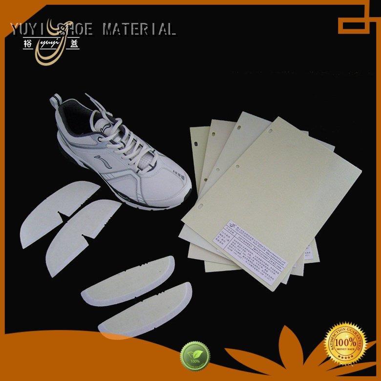 YUYI thermoplastic lowtemperature shoe heel counter yat ypa