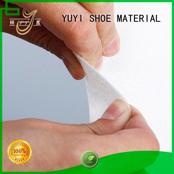 touch soft YUYI leather lining material
