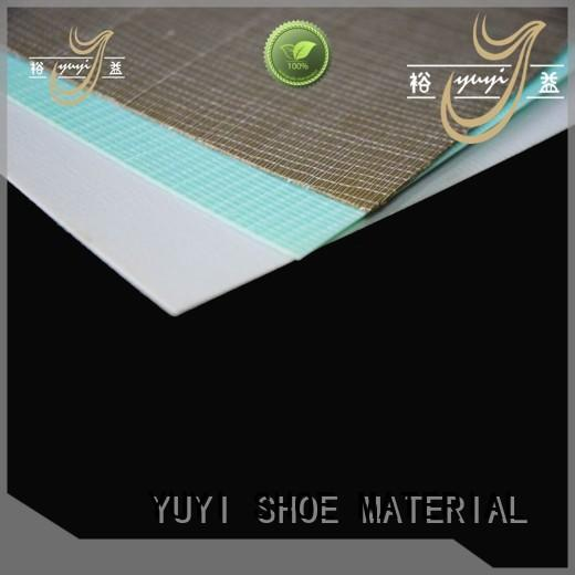 thermoplastic www toe puff sheets & chemical sheets manufacturer in china trendy YUYI company