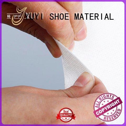 Custom leather lining material soft ypc leathergoods YUYI