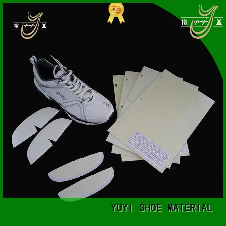 YUYI Brand touch toe puff and counter material board supplier