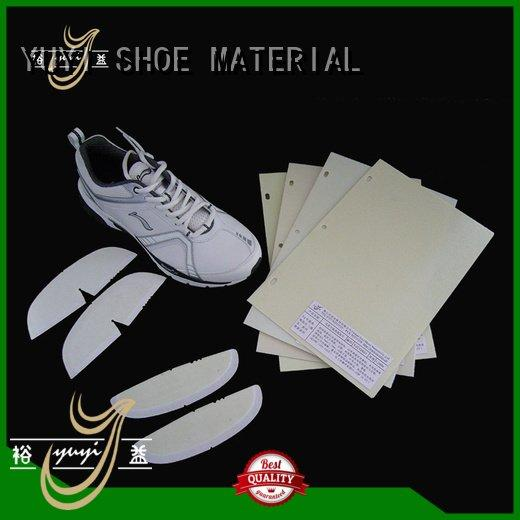 lowtemperature sheet toe puff and counter material YUYI
