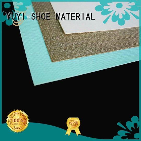 YUYI Brand hotmelt cap toe shoes puff sheet