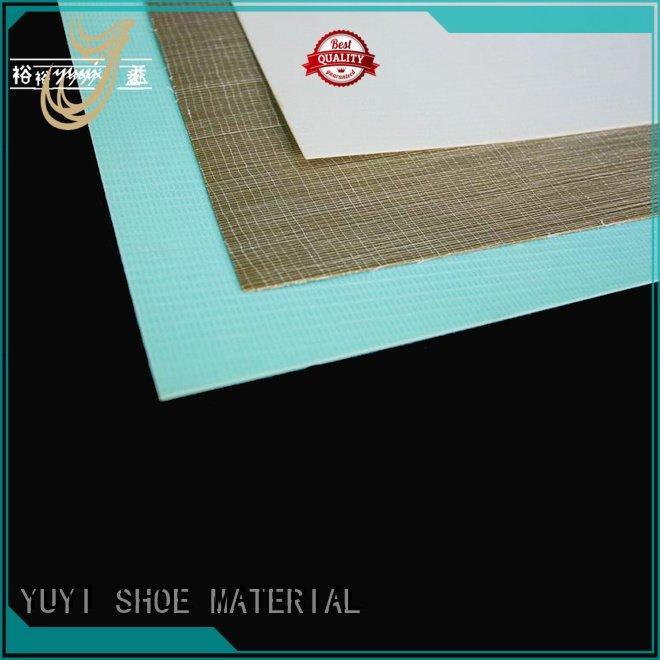 shoe rubber material hotmelt shoe counter performance YUYI
