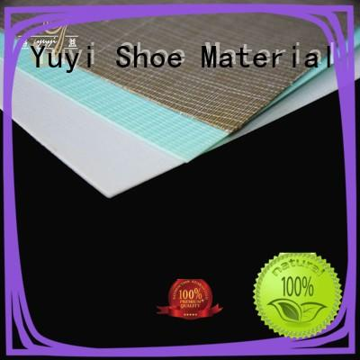 YUYI funky shoe heel material free sample for Casual shoes