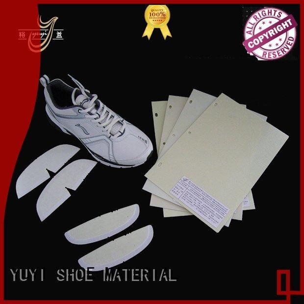YUYI Brand hotmelt thermoplastic shoe heel counter sheet yjc