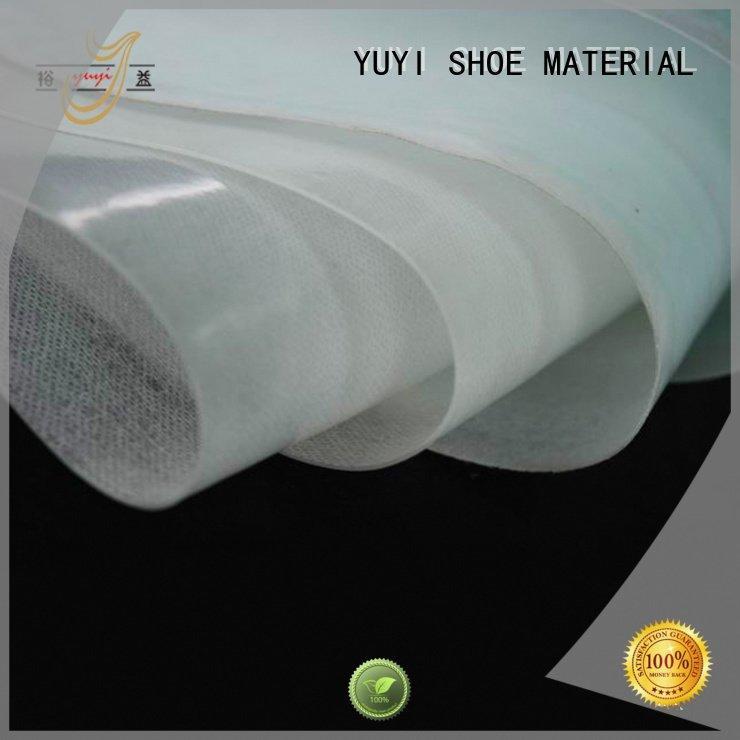 YUYI Brand puff highelastic cap toe shoes hotmelt lowtemperature
