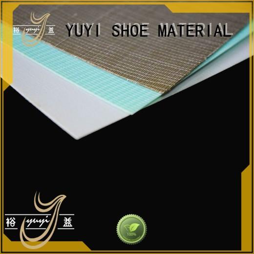 YUYI Brand hotmelt yat shoe rubber material
