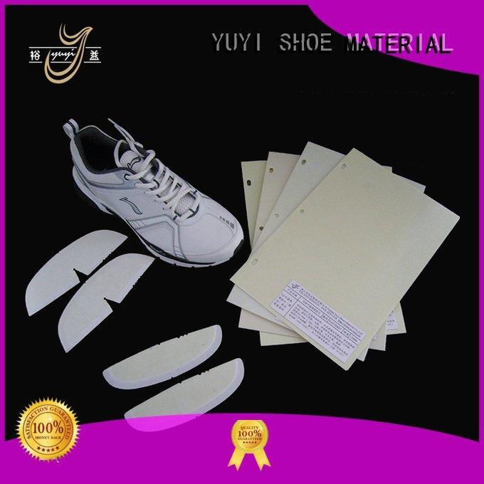 yjc lowtemperature YUYI shoe heel counter