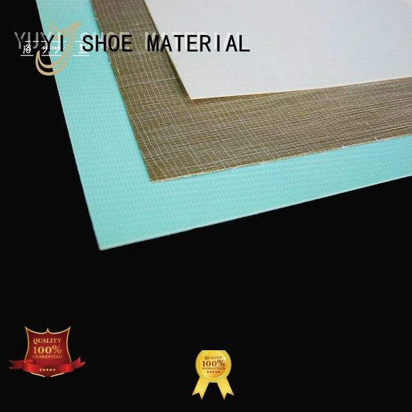 YUYI Brand hotmelt sheet lowtemperature heel counter yat