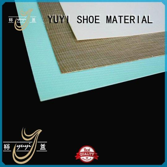 Wholesale sheet hotmelt heel counter YUYI Brand