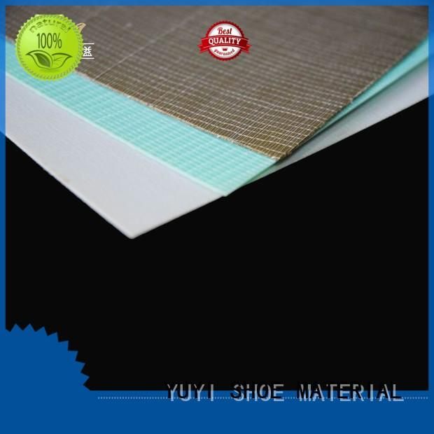 shoe rubber material insole lining Bulk Buy hot sale YUYI