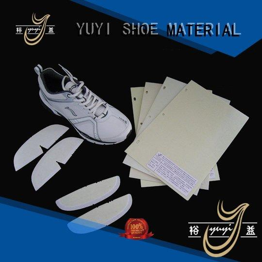 hotmelt thermoplastic ypa YUYI toe puff and counter material