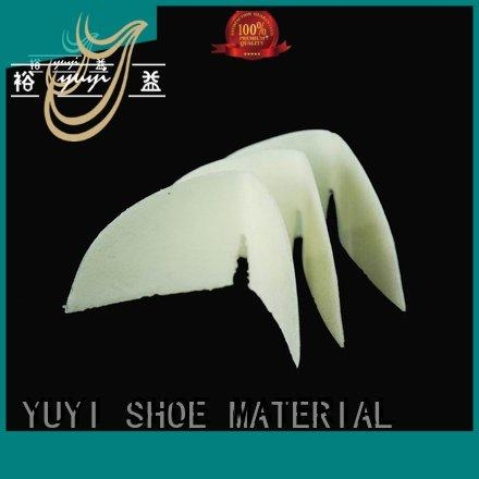 running shoes without heel counter thermoplastic yat OEM running shoes soft heel counter YUYI