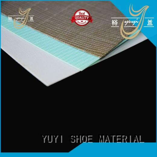 YUYI yjc shoe heel material bulk production for Casual shoes