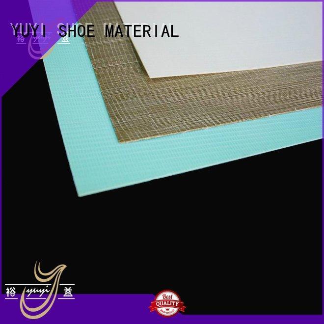 shoe rubber material sheet ypa OEM shoe counter YUYI