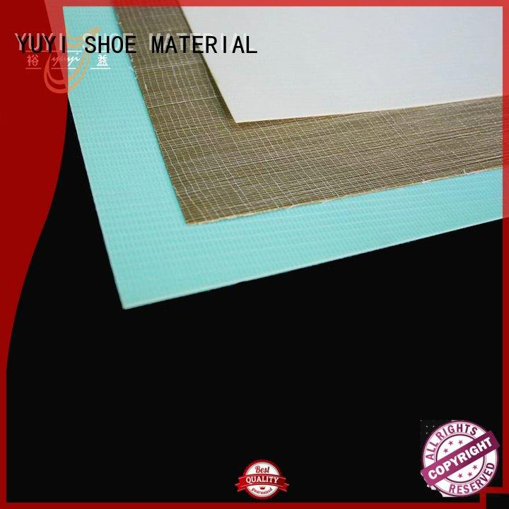 YUYI Brand puff thermoplastic toe cap sheet lowtemperature