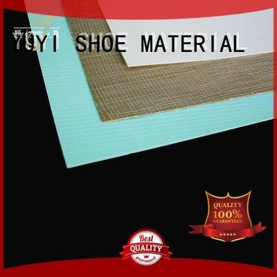 YUYI thermoplastic hotmelt sheet cap toe shoes ytc