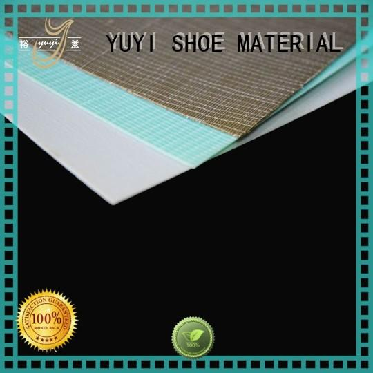 reinforcement highelastic www toe puff sheets & chemical sheets manufacturer in china YUYI manufacture