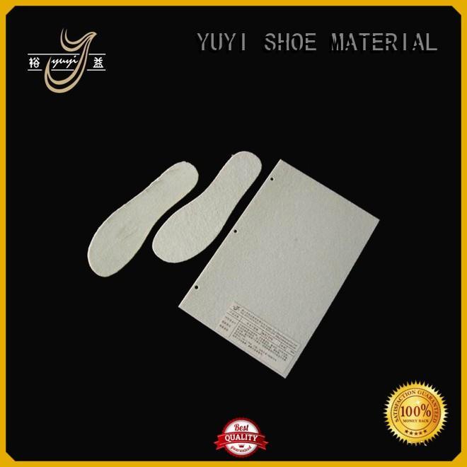 YUYI Brand waterproof insole board sole inserts