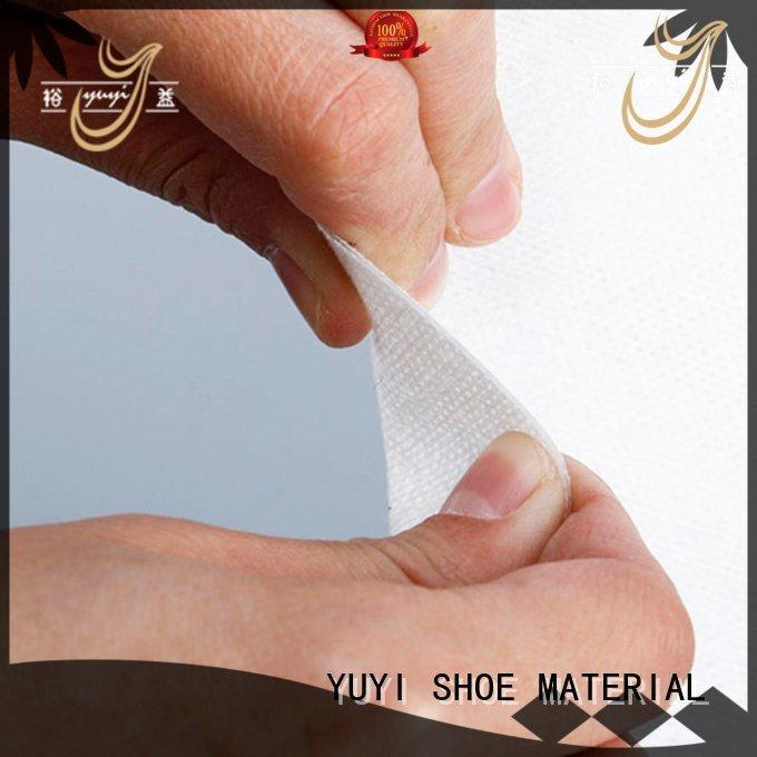 YUYI leathergoods rigid leather lining material touch reinforcement