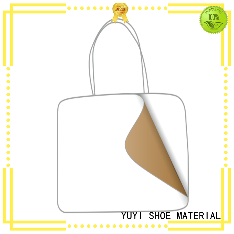 thermoplastic leather lining material leathergoods YUYI company