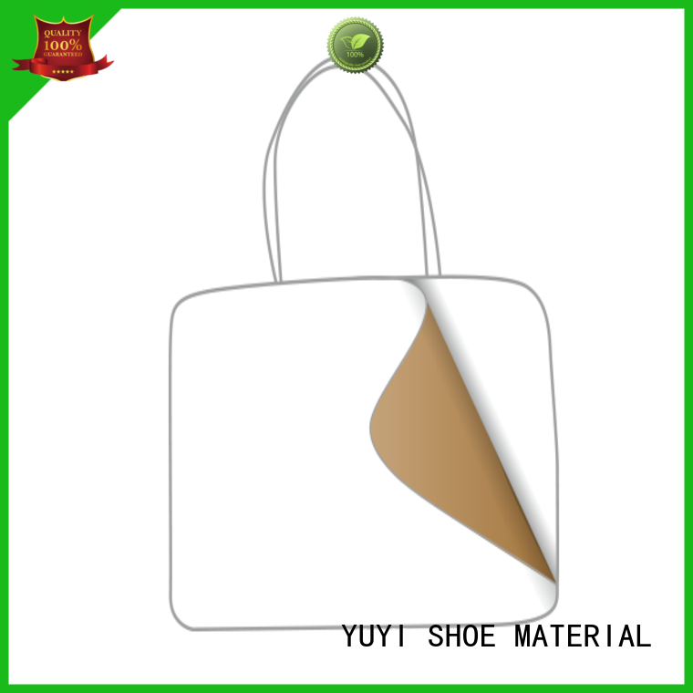 soft leathergoods reinforcement ypc YUYI Brand soft leather material supplier