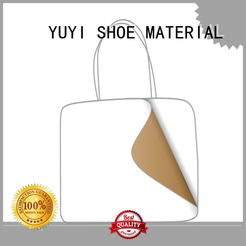 YUYI Brand reinforcement leathergoods soft leather toe cap shoes touch