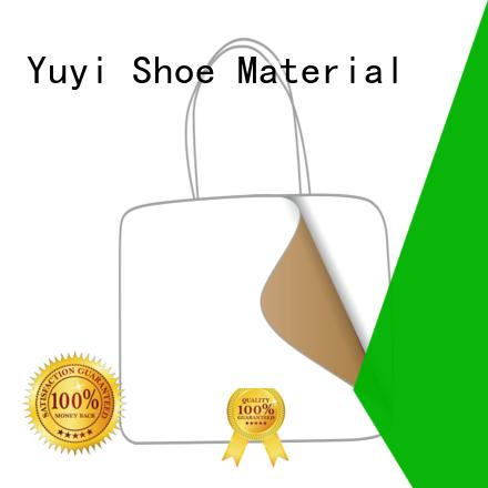 YUYI leathergoods leather toe cap OEM