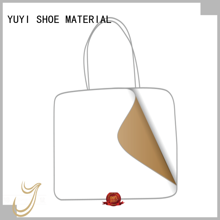 lowtemperature ypc performance hotmelt leather lining material YUYI