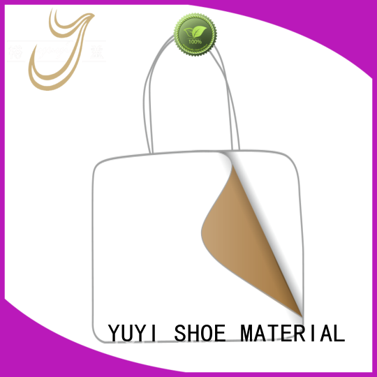 YUYI Brand touch ypc leather lining material manufacture