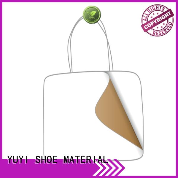 Custom rigid leather toe cap leathergoods YUYI